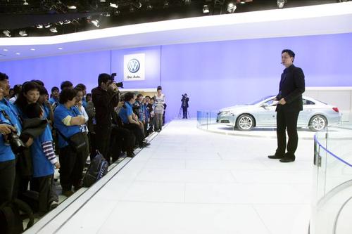 大众VBC尊贵看车团完美尊享北京国际车展