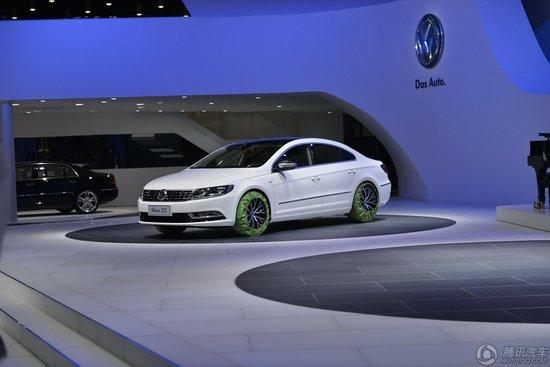 一汽大众新款CC上海车展正式首发亮相