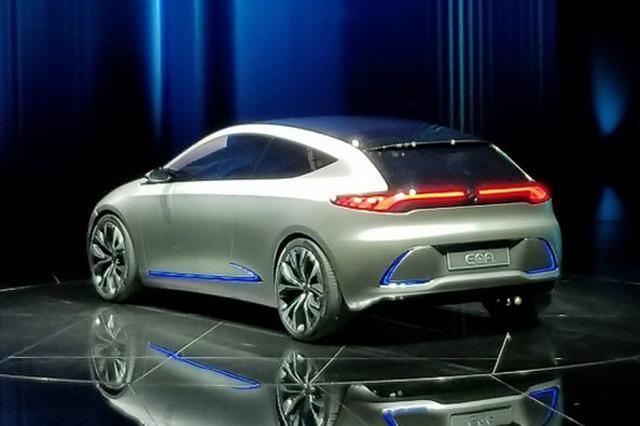 疾驰EQA观点车亮相 预计2020年上市
