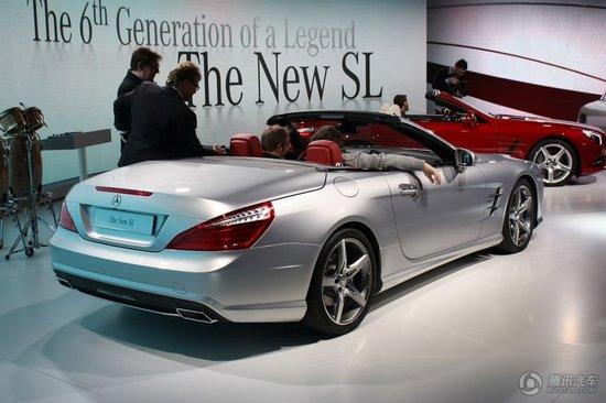 新一代奔驰SL级2012北美车展全球首发