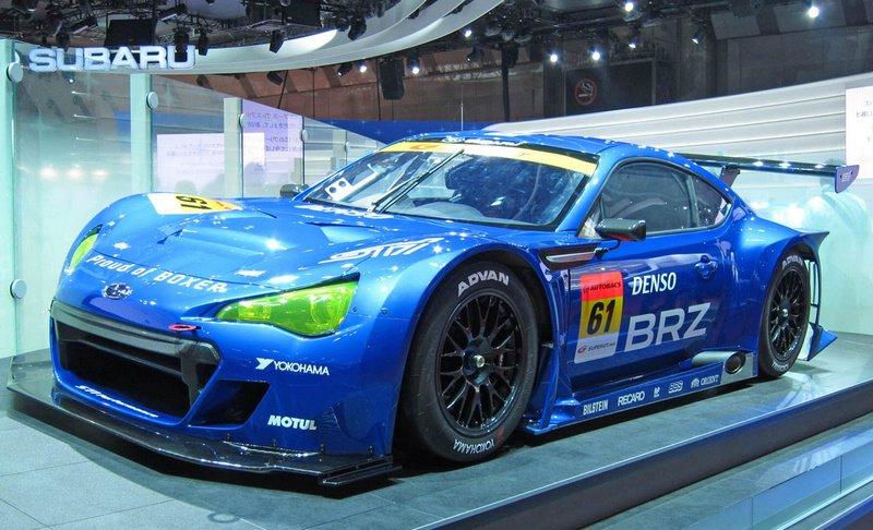 斯巴鲁BRZ GT300