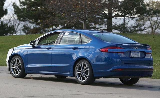 福特改款蒙迪欧北美车展登场 前脸调整较大