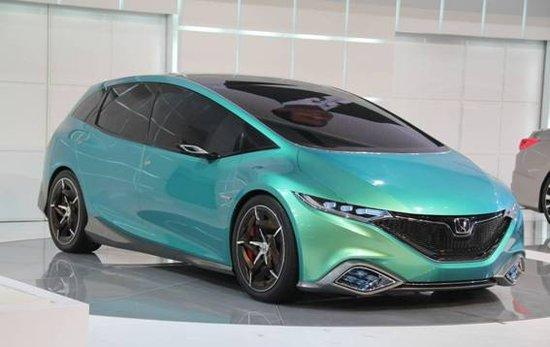 """东风Honda概念车""""Concept S"""""""