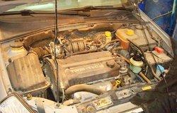 别克4S店清洗油路、喷油嘴、怠速阀、节气门作业