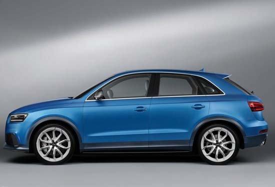 在2011年的上海车展上,奥迪把全新的小型SUV车型Q3安排在车展上进行全球首发