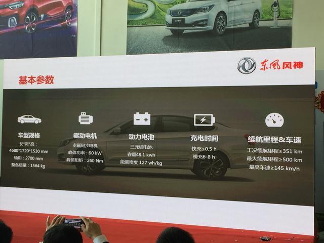 东风风神E70上市 售价21.28-22.28万元
