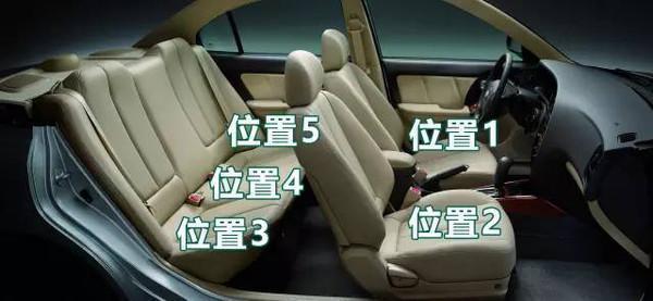 车上哪个位置最安全?原来这是最危险的位置!