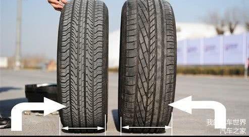 汽车装宽轮胎和窄轮胎有什么差别