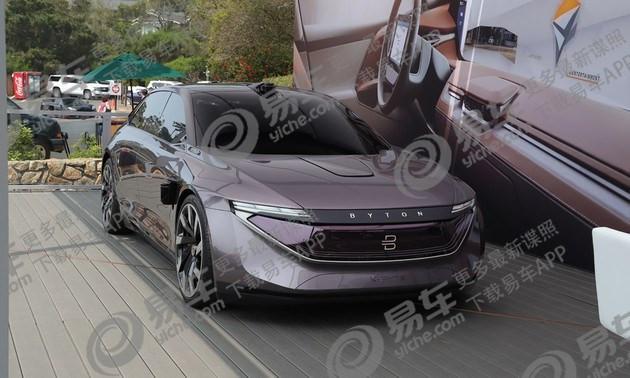 拜腾首款量产车BYTON M-Byte将于2019年1月CES展推出