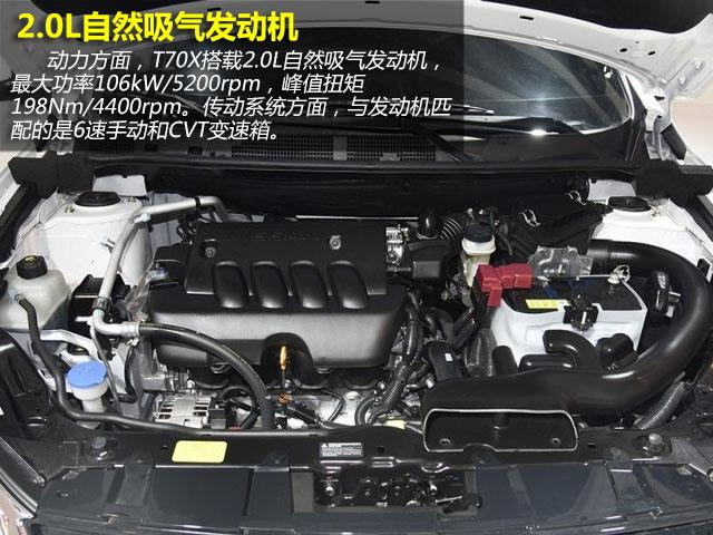 启辰T70X购车手册 推荐2.0L CVT睿趣运动版