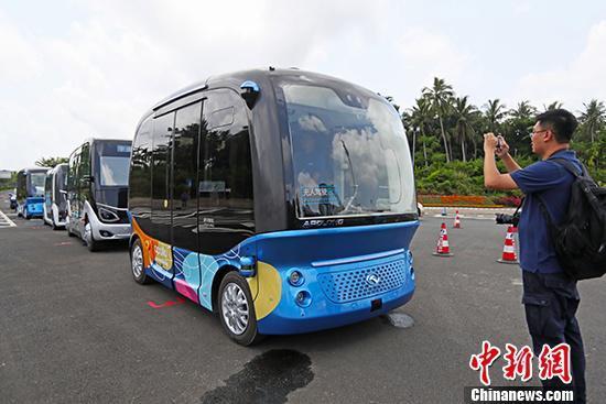 海南开展智能网联汽车及5G应用试点项目