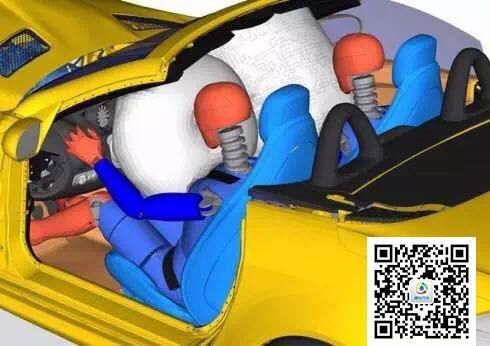 详解车辆碰撞实验