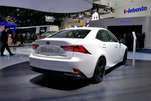 新款雷克萨斯IS 300h 正式亮相法兰克福车展