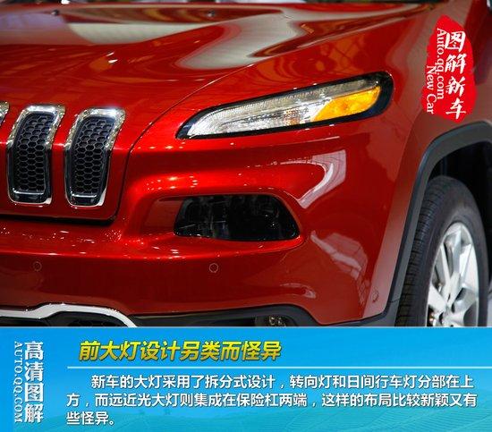 [图解新车]Jeep自由光上海车展中国首发