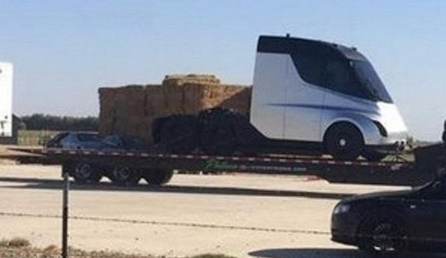 特斯拉首款电动卡车 续航里程可达480公里