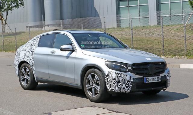 奔驰新GLC Coupe确认明年登场 对标宝马X4