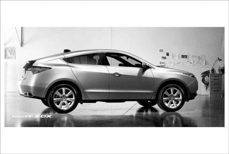跨界轿跑豪华SUV车型ZDX-成都 讴歌发布两款车型 开始接受全面预定高清图片