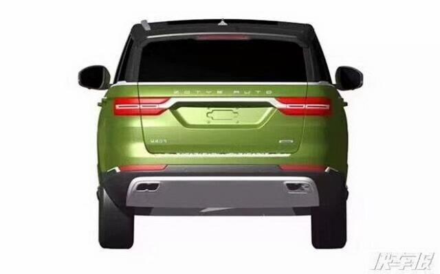 路虎请小心 众泰全新SUV车型专利图曝光