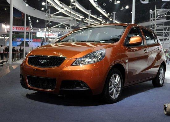 瑞麒G2北京车展正式发布 或将7月上市发售