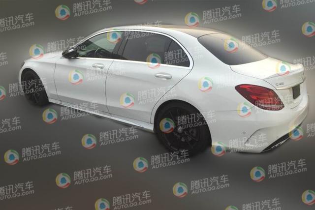 北京奔驰C450L AMG Sport路试 国产最高配