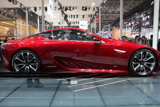 [新车解析]雷克萨斯LF-LC混动概念跑车亮相