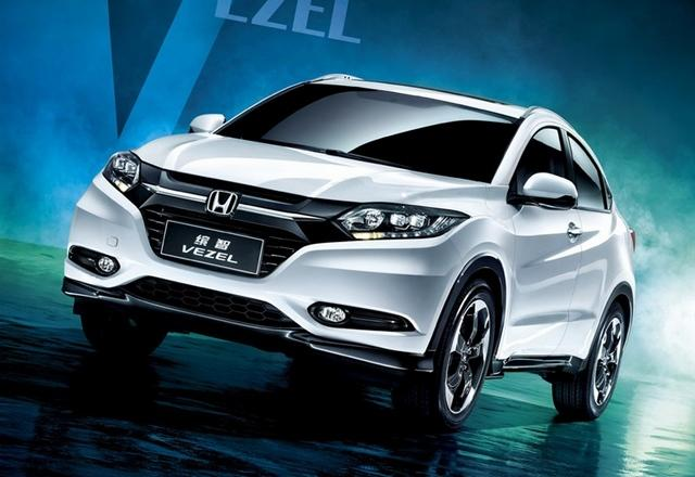 广汽本田小型SUV车型缤智-年内将上市小型SUV前瞻 合资品牌加速布局高清图片