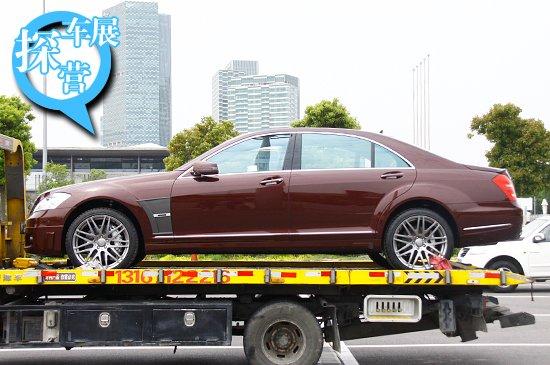 [上海车展探营]奔驰S级贵族改装-博速60S