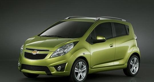 雪佛兰全新SPARK-广州车展下周一揭幕 50余款新车将亮相