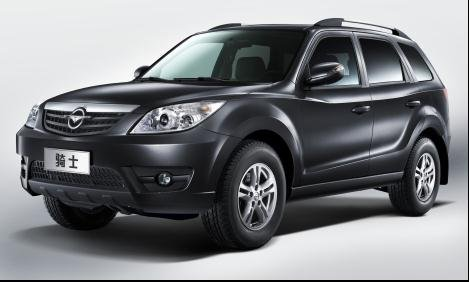 海南海马汽车即将推出全新型号骑士SUV