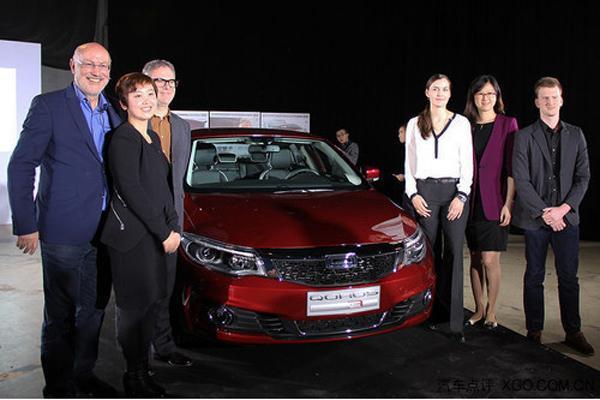 观致汽车沙龙在京举行 观致3五门版常熟量产