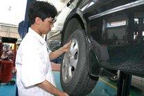 轮胎长期跑偏致爆胎危险