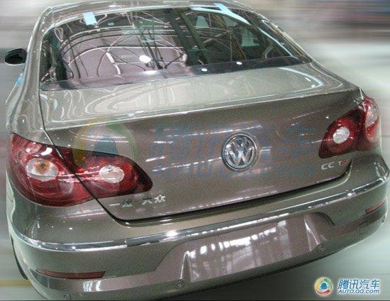 五座清晰照曝光 2011款CC将亮相上海车展
