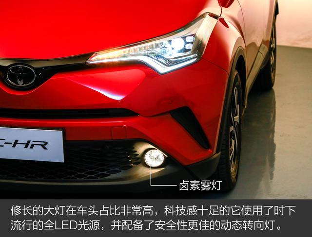 颜值只是其中一个特点 实拍广汽丰田C-HR