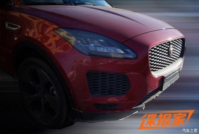 紧凑型SUV 疑似国产捷豹E-PACE谍照曝光