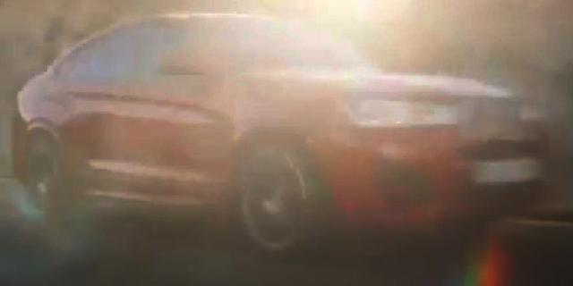 宝马X4量产版发布预告 3月6日将正式亮相