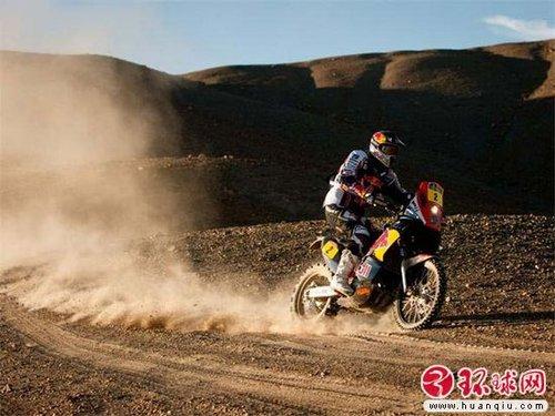 达喀尔拉力摩托车组:德普雷领先优势扩大