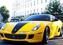 编号为76667的法拉利599 GTB Fiorano