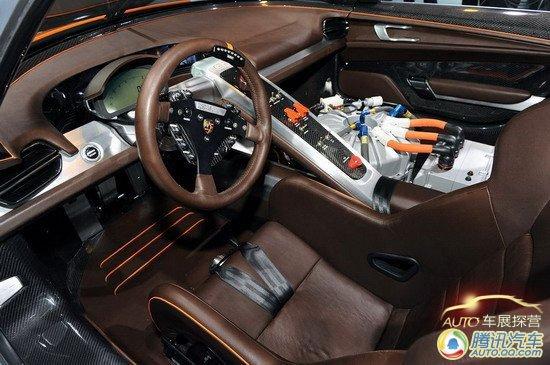 上海车展探营报道 保时捷全新超跑918 RSR