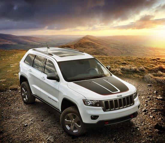 jeep大切诺基trailhawk特别版 高清图片
