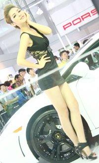兰博基尼车模 可卿-美艳之美