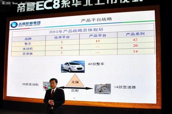 42款新车20款引擎 吉利未来5年规划曝光