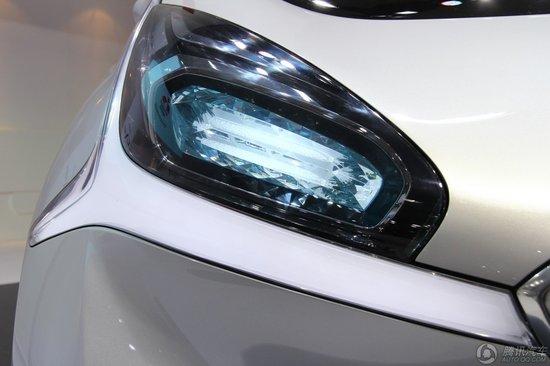 三菱CA-MiEV电动概念车正式亮相上海车展