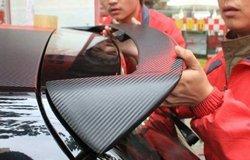 北京提车加尾翼改装作业