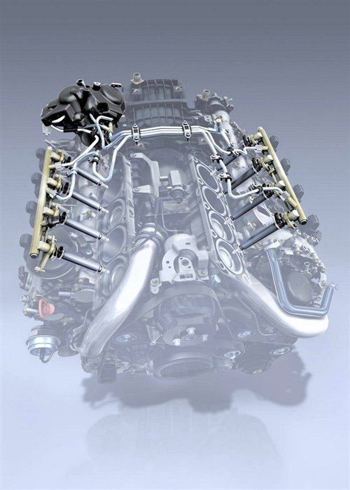 奔驰新款V6/V8发动机:动力/经济性提升