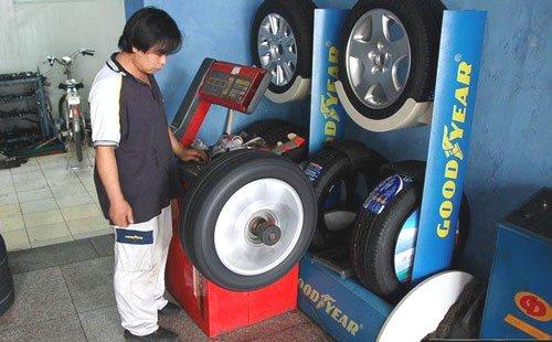 车轮动平衡