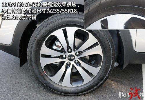 挑战传统 腾讯试驾东风悦达起亚智跑2.0