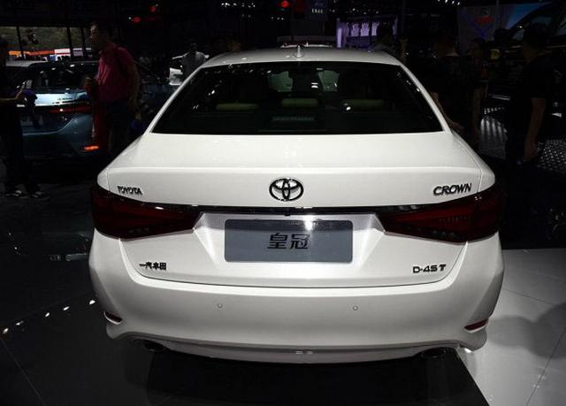 一汽丰田新款皇冠首发 外观/配置升级