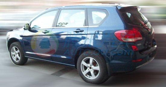 长城H6 SUV清晰无伪谍照 或广州车展首发