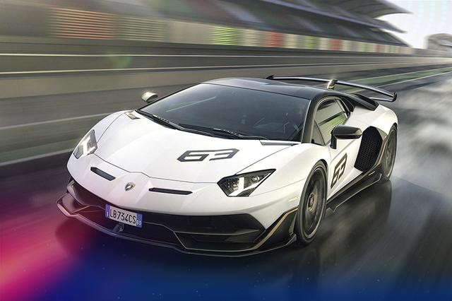 兰博基尼Aventador SVJ 63特别版 百公里加速2.8秒