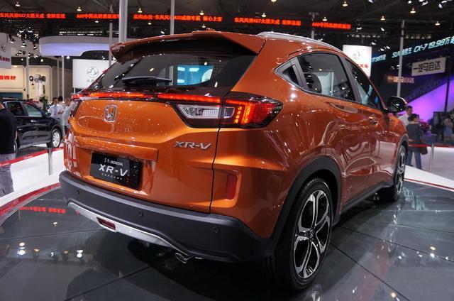东风本田XR-V概念车发布 有望年内上市